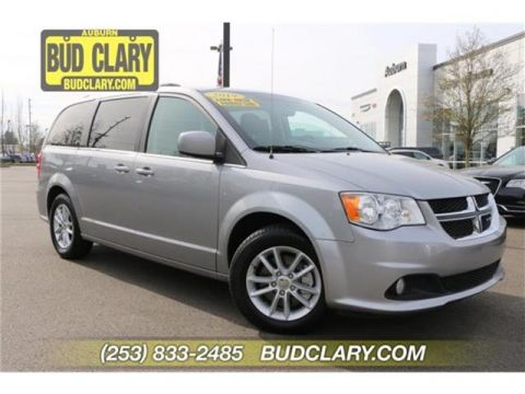 Pre-Owned 2019 Dodge Grand Caravan SXT Front-wheel Drive Passenger Van