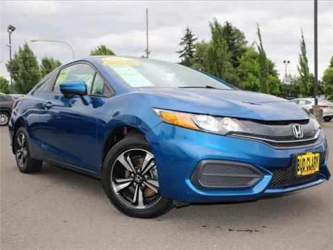 Pre-Owned 2015 Honda Civic EX (CVT) 2dr Coupe