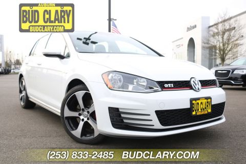 Pre-Owned 2017 Volkswagen Golf GTI