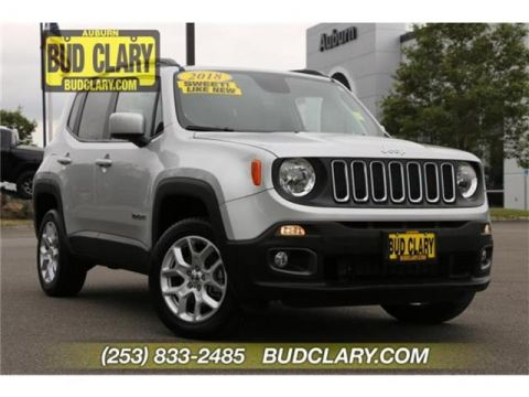 Pre-Owned 2018 Jeep Renegade Latitude 4dr 4x4