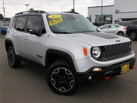 2016 Jeep Renegade Trailhawk 4dr 4x4